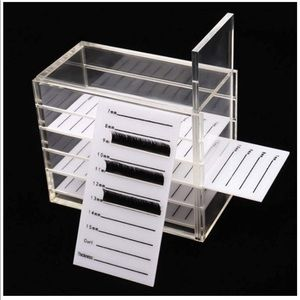 Other - New 5 Layers Clear Eyelash Storage Box